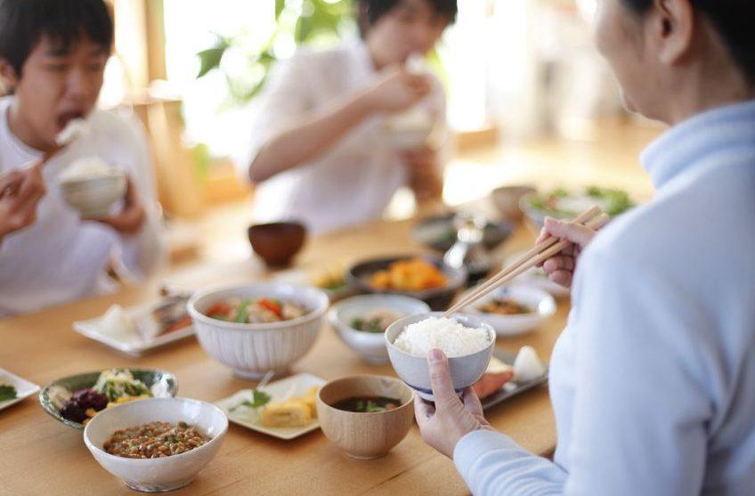 18589168 - japanese breakfast family