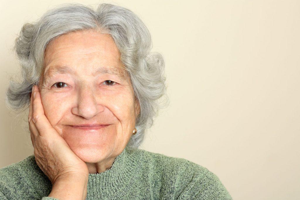 41665806 - senior lady portrait